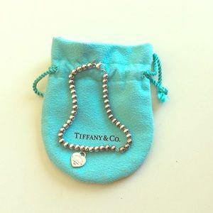 Return to Tiffany's Beaded Heart Bracelet